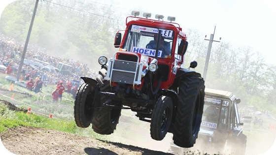 Гонки на тракторах 2018