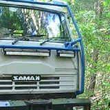 Брошенные Камазы в лесу