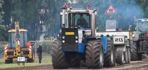 Трактора Форд и Кировец