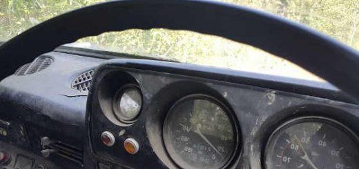 Машина брошенная в тайге