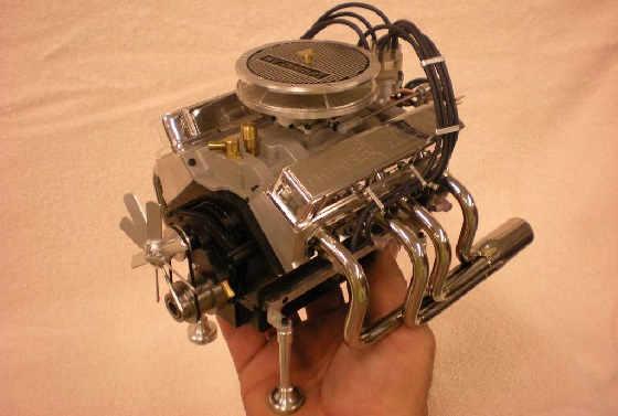 Миниатюрные v8 двигатели внутреннего сгорания