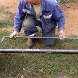 Как ровно приварить ось прицепа к ступице