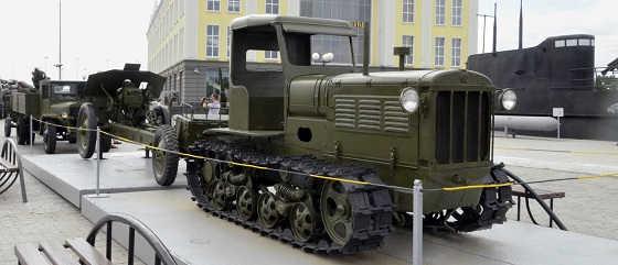 Первый гусеничный трактор СССР СХТЗ НАТИ