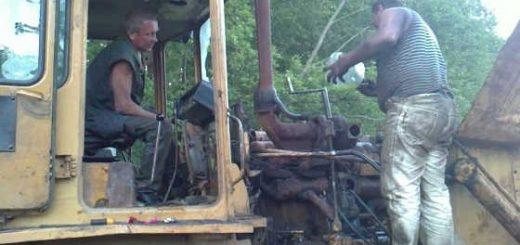 Страшный трактор