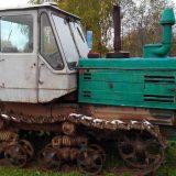 T-150 в лесу