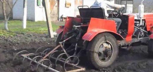 Самодельный полноприводный трактор с двигателем Д-21