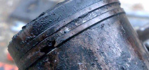 Убитые маслом двигатели бензокос и бензопилы