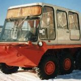 Автобус из БТР-80