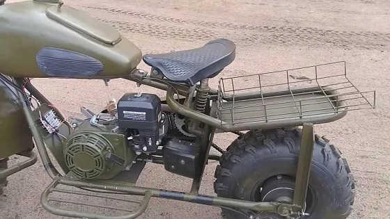 Двухколёсный драндулет собранный на коленке