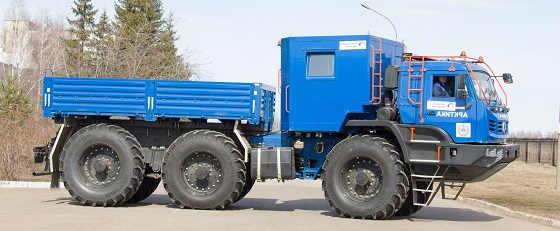 Вездеход КАМАЗ-5350 «Арктика»