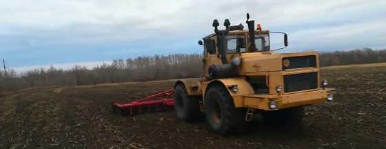 Трактор Кировец + БДМ-6Х4