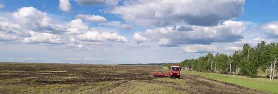 Трактор Кировец с кабиной от VOLVO