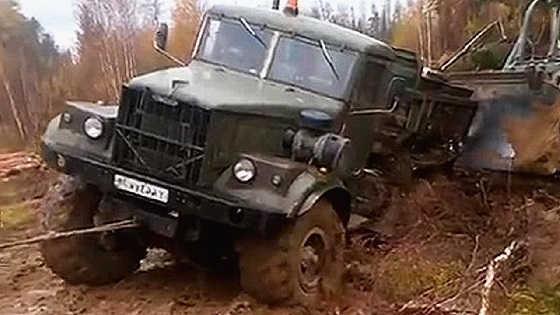 """КрАЗ-255Б """"Лаптёжник"""""""