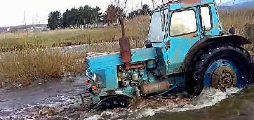 Легендарные тракторы МТЗ