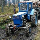 ЛТЗ Т-40АМ: Работа в лесу