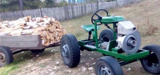 Мини-трактор 2016 года выпуска
