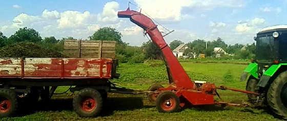 МТЗ-80 с косилкой КИР-1,5М