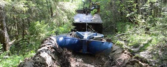 Лесной плуг ПЛМЛ-001