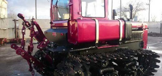 Реставрация трактора ДТ-75