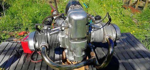 Завел обновленный мотор Урала