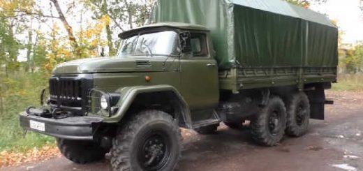 ЗИЛ-131 с японским дизельным двигателем