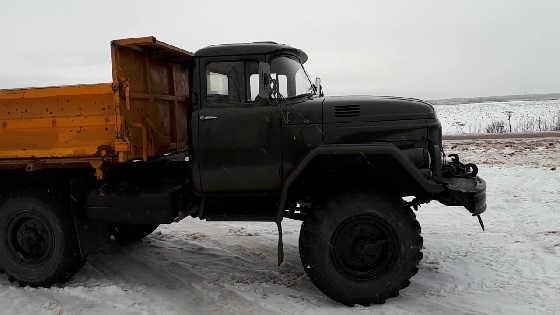 ЗИЛ-131 с двигателем ОМ-366