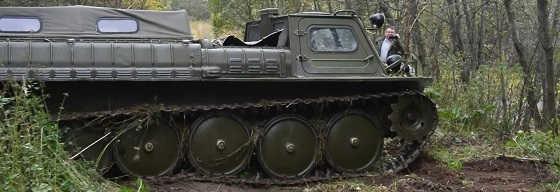 Испытания ГАЗ-71