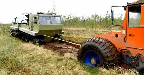 Вездеходы ГИДРОТРАК и ТРОМ-17
