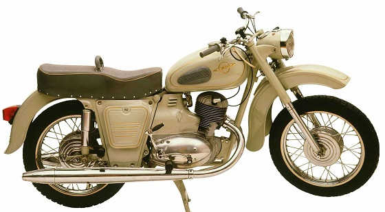мотоцикл ИЖ Юпитер 1961 года