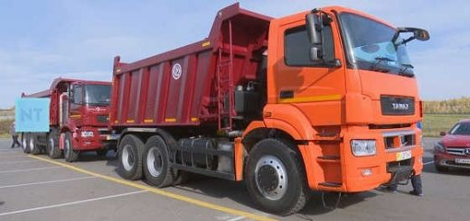 """ВЕСЬ модельный ряд грузовиков """"КАМАЗ"""""""