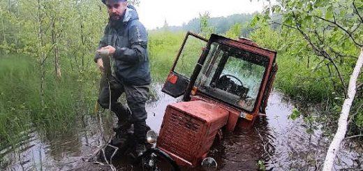 Колеса от комбайна на Турбо-трактор