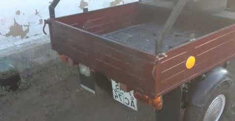 Мотороллер Муравей 4т три широких колеса