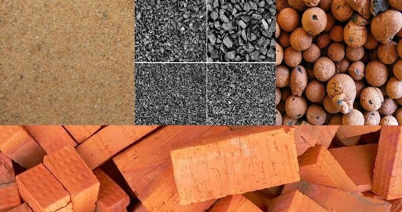 Разновидности стройматериалов