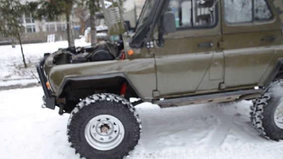 УАЗ V8 4.2 с двигателем от Шишиги