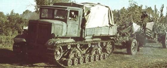 """""""Ворошиловец"""" Легендарный артиллерийский тягач"""