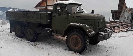 ЗИЛ 131 с двигателем КАМАЗ