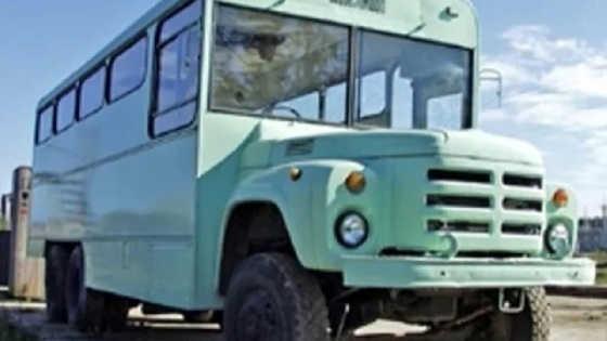 Прототип автобуса на базе ЗИЛ 133ГЯ