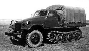 ЗИС 153 Советский тягач
