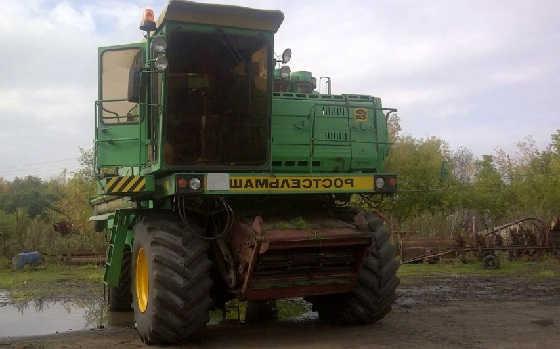 Подготовка комбайна ДОН-1500Б к уборке