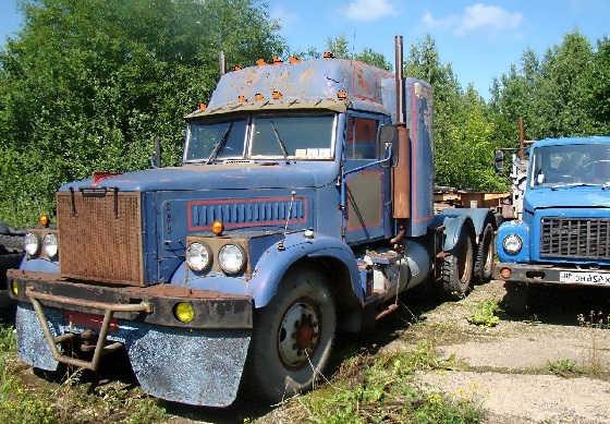 Тюнинг на грузовики КрАЗ