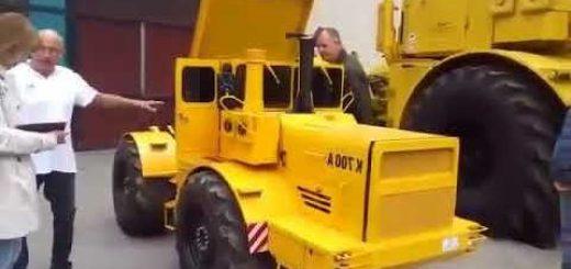 Мини-трактор К-700