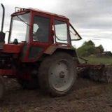 Трактор МТЗ-80 с БДТ