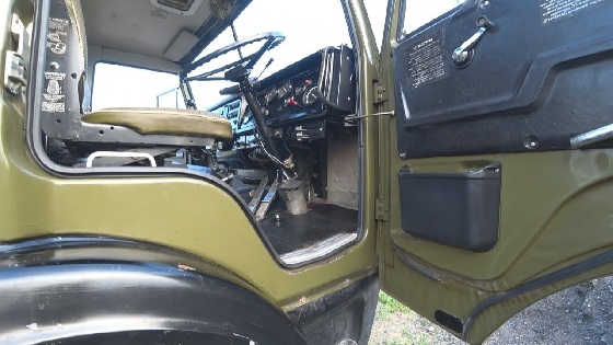 Отчистил кабину КАМАЗ 4310