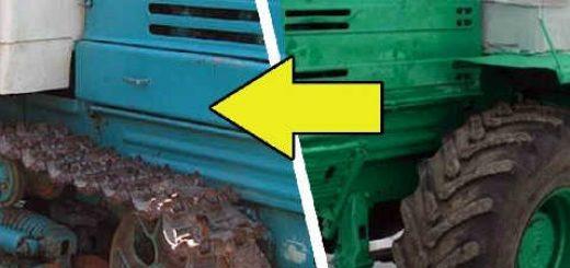 В чем отличие колесного и гусеничного трактора