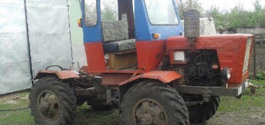 Самодельный полноприводный трактор