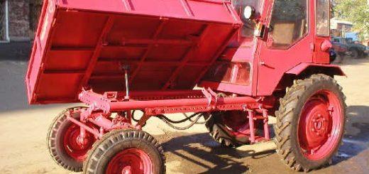 Ремонт трактора Т-16