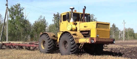 Трактор кировец ПАШЕТ