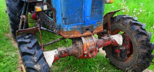 Модернизированный трактор ЮМЗ-6