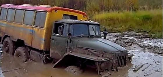Урал на бездорожье