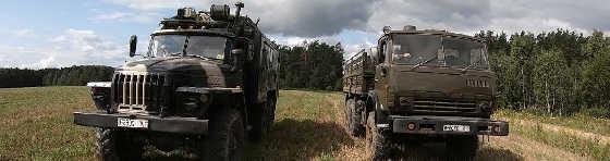 Урал против Камаза вне дорог